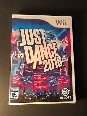 Just Dance 2018 (Wii) NEW