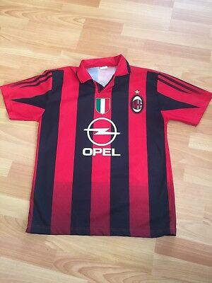 Vintage AC Milan OPEL Hernan Crespo #11 Soccer Jersey Size Men's Small