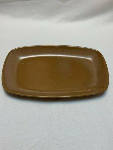 Frankoma Pottery Light Brown Platter #5PS
