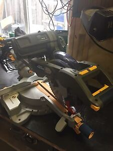 "10"" dual bevel sliding compound mitre saw"