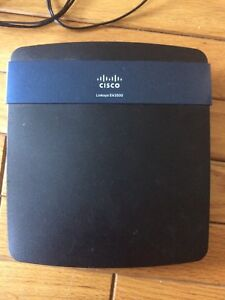 Linksys N750 dual band smart wifi router