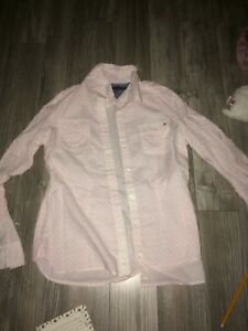 Large Tommy Hilfiger button up sweater