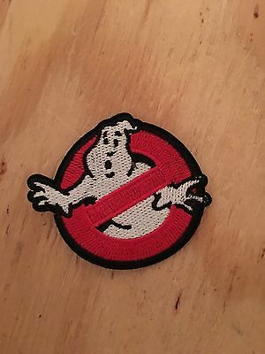GHOSTBUSTERS GHOST Movie Logo BUSTERS for Halloween IRON on PATCH](Halloween Movie Logo)