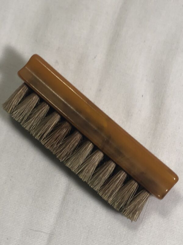 VINTAGE SMALL BAKELITE SHOE SHINE BRUSH