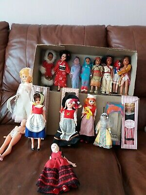 Vintage Dolls collection  from around the world.