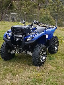 Yamaha 700 grizzly quad Westerway Derwent Valley Preview