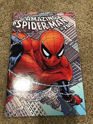 Amazing Spiderman 700 RARE Joe Quesada 1:100 Color Variant Cover NM SHIPS FREE