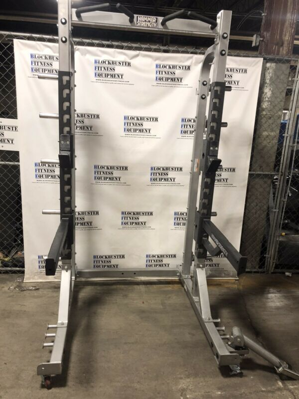 HAMMER STRENGTH HD HALF RACK (HDHR8) - SHIPPING NOT INCLUDED