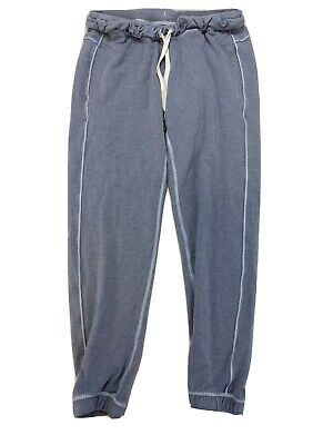 Lululemon Women's Gray/Blue Drawstring Sweatpants w/ Pockets Sz 6/S