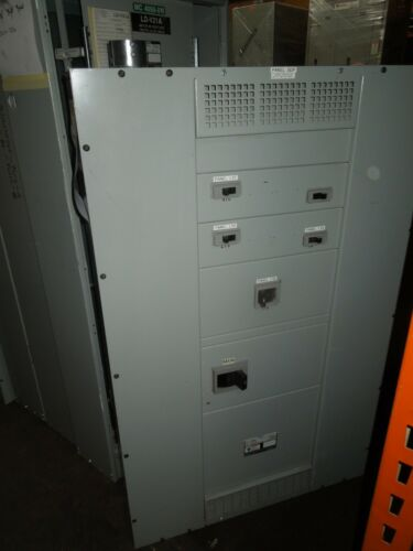 Siemens S5 1000A 3ph 208Y/120V Main Breaker Panel w/Distribution Breakers NEMA 1