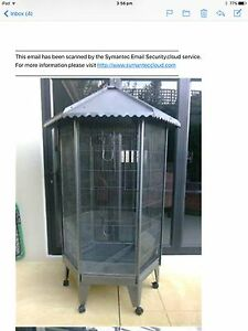Large patio aviary,cage on wheels new 1.8 H x90 cm Quinns Rocks Wanneroo Area Preview