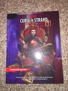Selling Curse of Strahd 5th Edition D&D Book!