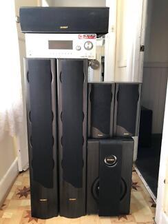 Jensen Qx2 home theatre system