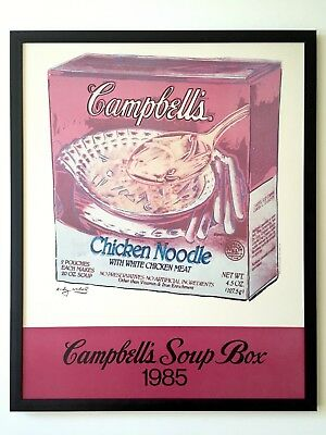 "16/""x20/"" Decoration Poster.Room design art print..Tomato soup cans.Campbells.6099"