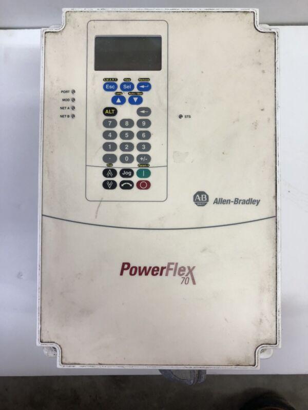 ALLEN BRADLEY 20A D 027 C 3 AYNANNN/20AD027C3AYNANNN/A POWERFLEX70 20HP *DIRTY*