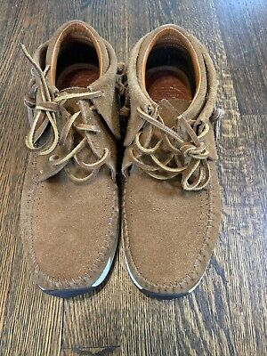 Visvim FBT Prime Brown RARE SIZE 9 FREE SHIPPING lhamo folk Kanye Brown