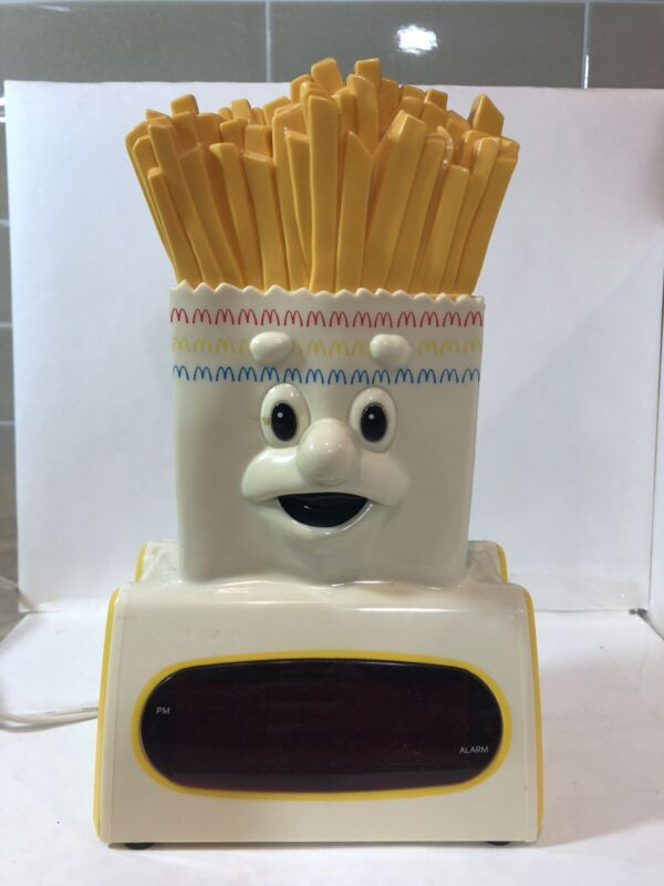 Vintage McDonalds Collectible French Fries Clock