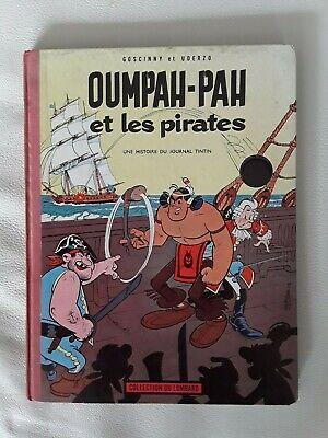 Ancienne BD Oumpah-Pah et les pirates EO 1962 - Lombard - Goscinny Uderzo - BE