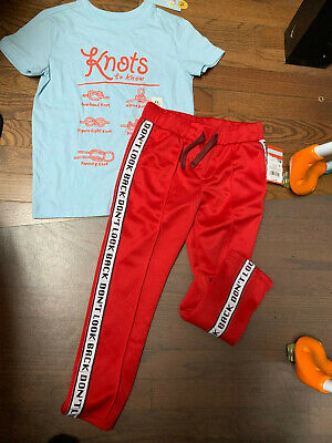 Cat & Jack Shirt and Joggers Outfit Bundle - Guy Outfits