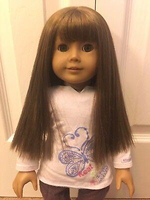 American Girl Look Alike Doll Girl Long Hair Pretty Toy
