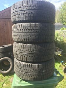 p225/45/17 inch Michelin Winter Tires / GOOD DEAL