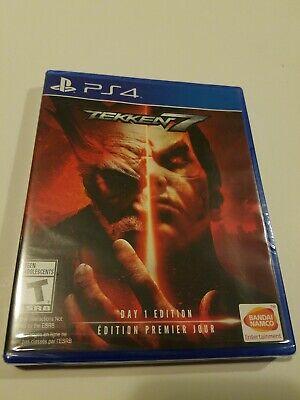 Playstation 4 PS4 TEKKEN 7 Day 1 Edition Bonus Eliza DLC Character New One Namco