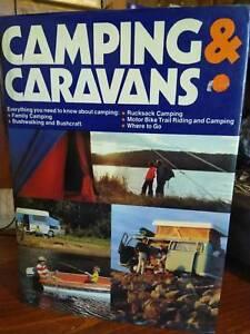 Camping & Caravans, book C1973 Paul Hamlyn