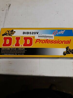 Did520v-84l O Ring Professional Motorcycle Chain