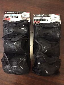 AirWalk 3 pack protective gear size youth 8-12 years