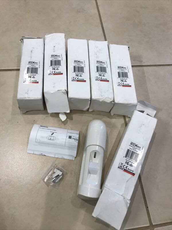 Lot 6 RISCO Group RK-700PRP IrexPlus Request to Exit PIR Motion Sensor w/Hrdwre