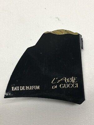 Vintage 1990s L'Arte di Gucci Eau de Parfum Sample Vial on Card PERFUME