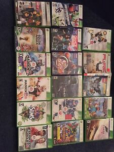 17 xbox 360 games for sale $10 each