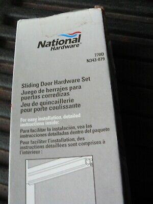 """National Hardware 60"""" BI-PASS SLIDING DOOR KIT # N343-079 St"""