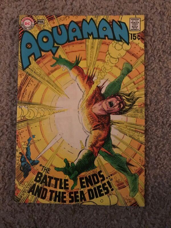 AQUAMAN #49 ORIGINAL SERIES NEW MOVIE NICE SHAPE!!