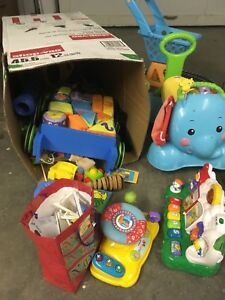Lots of infant and toddler stuff