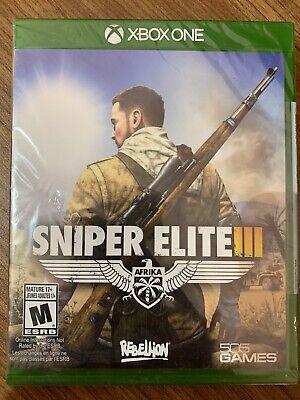 NEW XBox One Sniper Elite 3 III Afrika SEALED Complete Canada Microsoft
