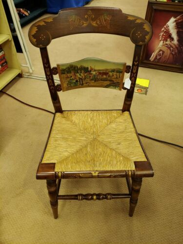 Photo Hitchcock Furniture Limited Edition Thanksgiving Day Chair 1986