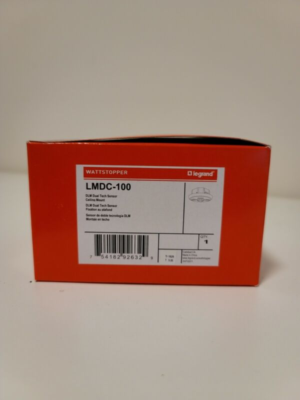 LEGRAND WATTSTOPPER LMDC-100 Dual Technology Sensor Ceiling Mount