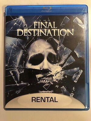 The Final Destination [Single Disc - Rental Edition Blu-ray] Rare (Final Destination Halloween)