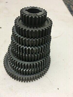 Atlas Sears Craftsman Dunlap 109 6 Metal Lathe Change Gears - 8 Piece Set