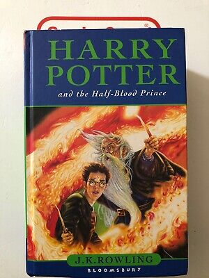 Harry Potter and the Half Blood Prince 1st Edition HB Page 99 Error, (Harry Potter And The Half Blood Prince Pages)