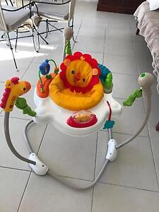PRAM, CHICCO NEXT 2 ME co-sleeper, fisher price jumperoo Horningsea Park Liverpool Area Preview