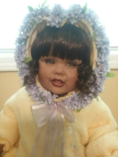 """Fayzah Spanos African American AA Doll """"Love Comes In All Colors"""""""