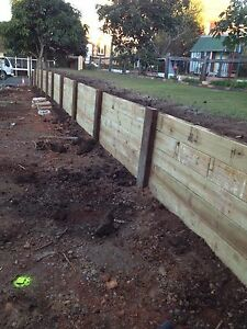 Retaining walls fencing Camp Hill Brisbane South East Preview