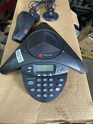 Polycom Soundstation 2 Conference Phone W Ext. Mics 2201-16000-601