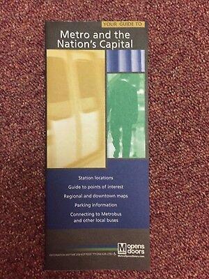 Washington Dc Metro Subway Metro And The Nations Capital Brochure Guide 2008