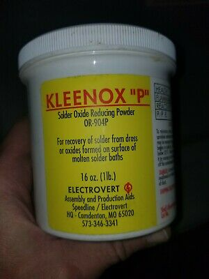 Kleenox P By Electrovert Oxide Reducer