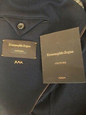 Ermenegildo Zegna Couture 100% Cashmere Men's Navy Blazer *Worn 1x*