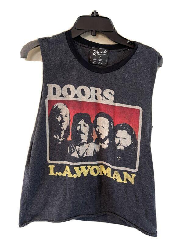 "bravado t shirt ""the doors"" womens size small"