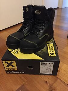 Brand new size 12 Oliver boots (side zip) Roxburgh Park Hume Area Preview